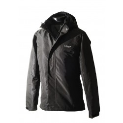 Women 2 in 1 Waterproof Jacket  - EH1205 Black