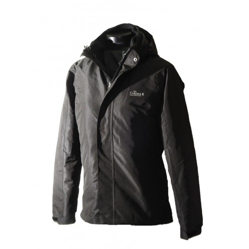 Women 2 in 1 Waterproof Jacket  - EH1205 Black