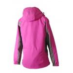 Women 2 in 1 Waterproof Jacket  - EH1205 Pink